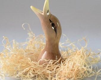 Vintage Duck Pie Bird Funnel