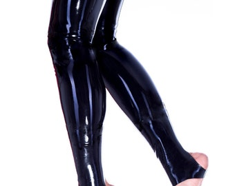 Narcissistic Love Footless Latex Rubber Stockings - Westward Bound R1716 MADE/DESIGNED UK