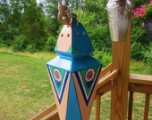 Larger Antique BOLD Art Deco Early 1920s Hat Pin Holder