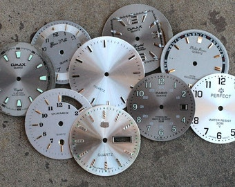 Wrist Watch Faces -- set of 9 -- D14