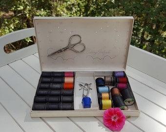 Sewing Kit - Belding Corticelli - Travel Case - Oak Hill Vintage