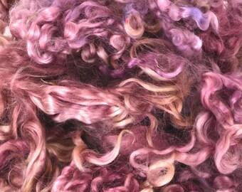 Wensleydale Long Wool Locks for Spinning and Felting Fiber- Colorway Sweet