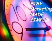 ETSY Marketing MADE SIMPLE! Etsy Tutorial   Etsy Marketing Tutorial   Marketing Tutorial
