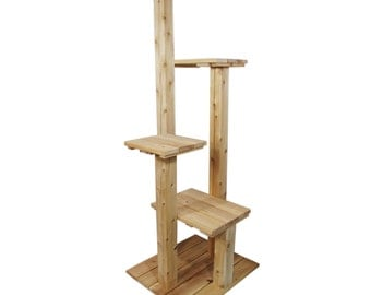 72 Inch Four Level Indoor/Outdoor Cat Tree