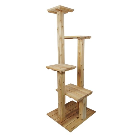 items similar to indoor outdoor cat tree six foot cedar