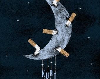 Kurt Vile gig poster