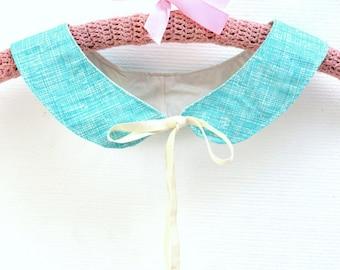 Detachable Collar - Organic Cotton - Sky blue