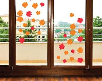 Window Cling Decorations reusable bats window cling halloween decor halloween