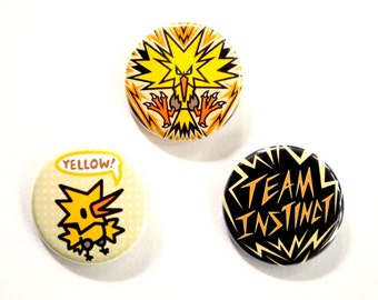 Team Instinct Button Set