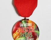 Fiesta 2016 Es Muy Caliente!! 2016 San Antonio Fiesta Medal chili pepper jalapeno hot spicy
