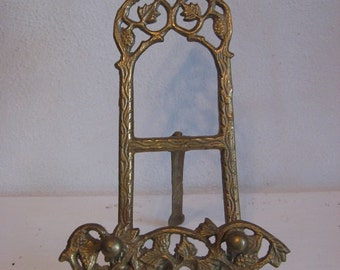 Small Cast Metal Easel