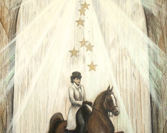 Star Horse by Carrie Martinez // Surrealism, Mysticism, Goddess, Tarot and Visionary Art