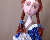 Last Layaway:  Anne of Green Gables art doll by Jan Conwell