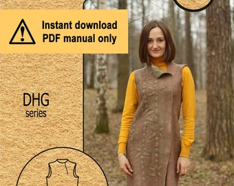 Dhg.13 / PDF tutorial / Seamless dress
