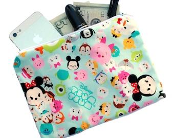 Kawaii makeup bag, cute bag, cosmetic pouch, school bag, pencil pouch, clutch, organizer