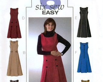 Butterick B4282 Sewing Pattern for Misses' Dress - Uncut - Size 16, 18, 20, 22