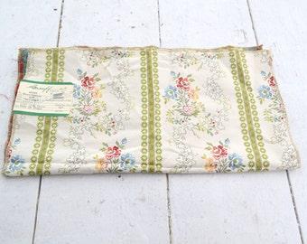 "1970s Greeff ""Mayenne"" Lisere Fabric Sample"