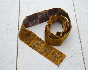 1950s Skinny Font Necktie