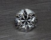 White Topaz Loose Faceted Modern Hexagonal Cushion Brilliant Sparkling Natural Gemstone
