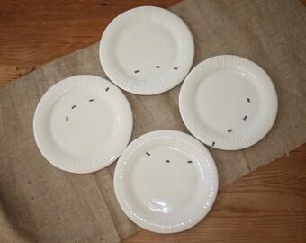 Ceramic paper plate, BBQ dinerware