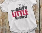Big Bang Theory Baby, Big Bang Theory Onesie, MeeMaw's Little Moonpie Baby Onesie