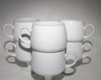 Modern White Mug - 7 Available