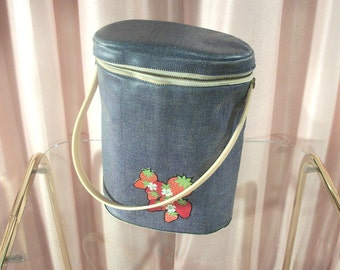 Cool Case, Insulated Picnic Bag, 70s