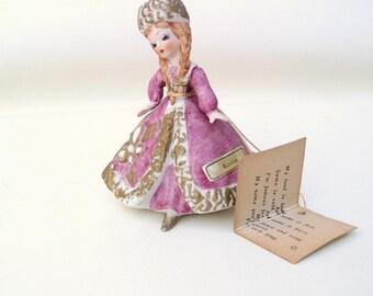Vintage Josef Original   Girl Figurines   Bisque Doll   Russian Doll - International Series