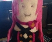 Hand Sewn Krul Tepes from Owari no Seraph Fanart Felt Plushie - Reserved Listing for meremitch02