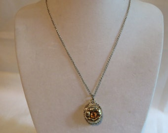 "15"" Topaz Pendant Necklace, necklace, topaz, pendant"