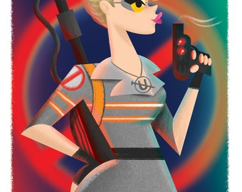Holtzmann Ghostbusters Limited Edition Print