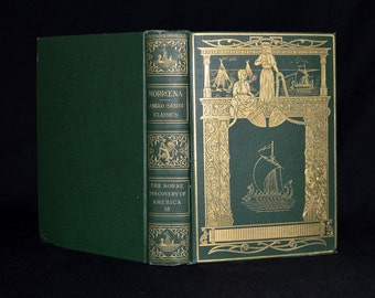 The Norse Discovery of America - Limited Printing of Only 350 Books! 1907 Memorial Edition Numbered 321/350 - Vikings / Norse - Fine Binding