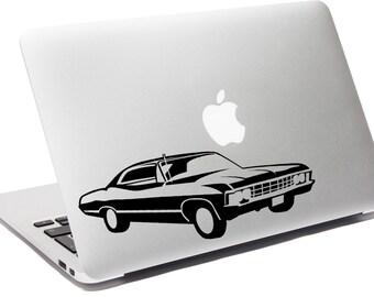 Supernatural Impala - Vinyl Decal