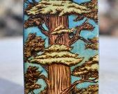 Custom Wood Bracelet Personalized Pyrography Wood Burning Paint Watercolor Bangle
