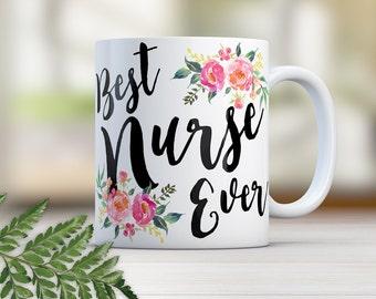 Nurse Mug, Nurse Gift, Nurse Mugs, Nurse Coffee Mug, Nurse Graduation Gift, Nursing Graduation, RN Gifts, Nurse Appreciation Gift, N0008