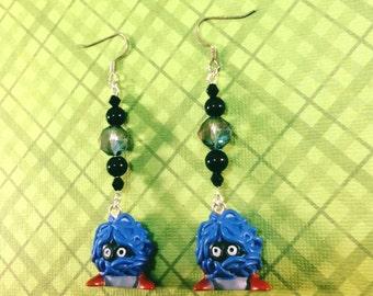 Tangela Pokemon Earrings - Pokemon Jewelry