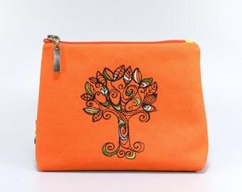 Cosmetic pouch / Purse / Clutch