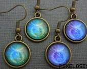 Taurus Zodiac Earrings, Taurus Constellation Earrings, Zodiac Symbol, Astrology Jewelry, April May Birthday Gift, Star Sign, Zodiac Jewelry