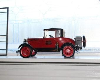 Jim Beam Fire Chief's Car 1928 Model A Decanter Vintage 1970s with Original Box