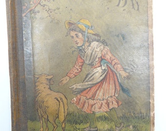 1879 A Snowy Day Illustrated Childrens Book, Copyright New York