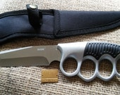 """BBF(Before Black Friday) Carol's Knife, The Walking Dead inspired, Very Sharp, Not A Toy, Includes Durable Nylon Sheath, 4 7/8"""" SS Blade, 9"""