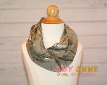 SALE KIDS Real Tree Toddler Girls Kids real tree Jersey Knit Camo Camoflauge Fashion Infinity Scarf Circle Hunting Duck Dynasty