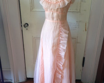 Ginger Rogers Dance Gown