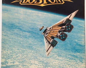 "Boston ""Third Stage"" 1986 Vintage LP Album MCA Records Featuring Number 1 Hit Amanda Classic Rock Vintage Vinyl"
