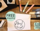 Packaging Stamp, Happy Mail Stamp