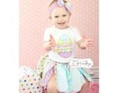 Easter tutu, BUNNY TAILS fabric tutu, easter shirt, first easter tutu, easter egg tutu, egg shirt, custom easter shirt, fabric tutu easter