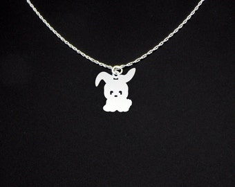 Hare Necklace - Hare Jewelry - Hare Gift - Bunny Necklace - Bunny Jewelry - Bunny Gift