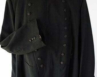 Free Mason Knights Templar Coat Fraternal Uniform Tailcoat Costume Reenactment Steampunk