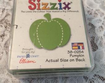 Sizzix Pumpkin Die, Sizzix Original Retired - Small Pumpkin Die 1.25 Inch