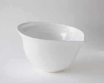 Large White Mixing & Prep Bowl
